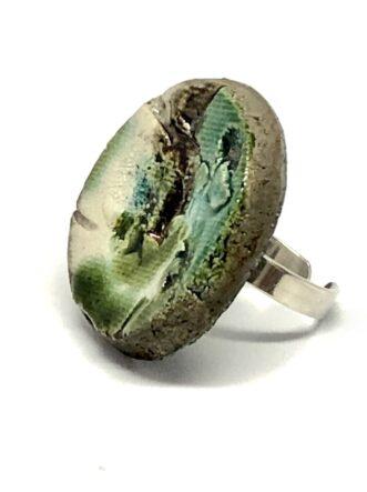 Rakkura shape ring